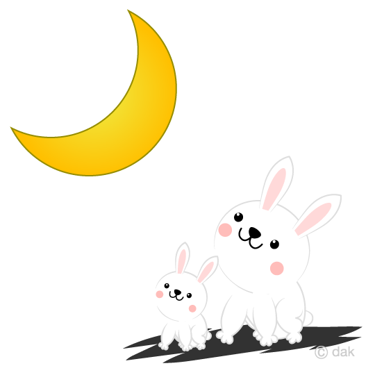 The moon rabbit