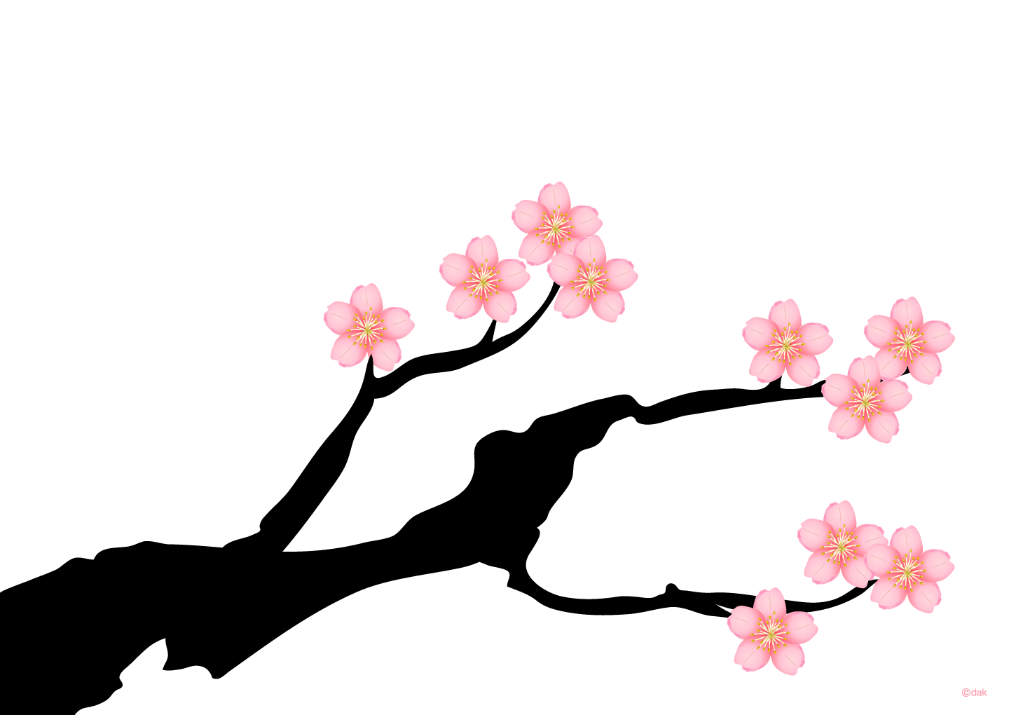 Cherry tree wallpaper