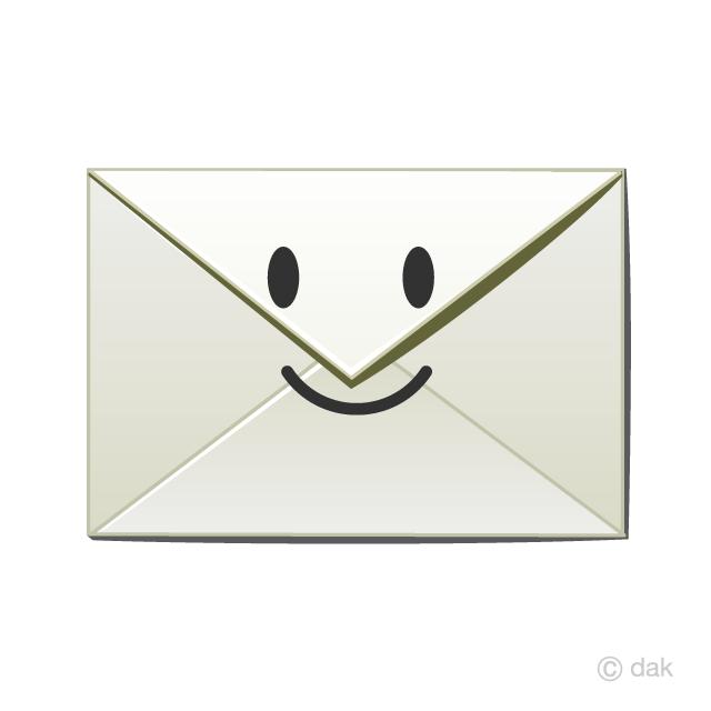 スマイルメールの無料イラスト素材イラストイメージ