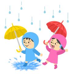 梅雨の無料イラスト素材集イラストイメージ