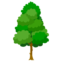 Tall tree clip art