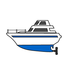 Small cruiser boat