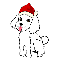 Dog of Santa Claus