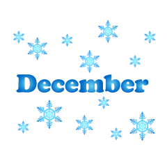 December and the snow