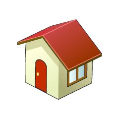 まとめ家のフリーイラスト素材イラストイメージ