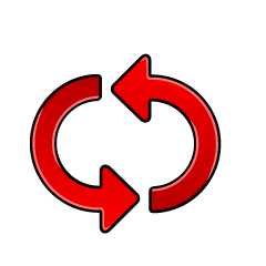 Cycle arrow icon