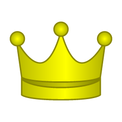 Gold crown Clip Art