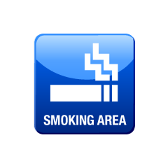Smoking area icon