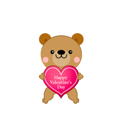 Bear Valentine's Day Clip Art