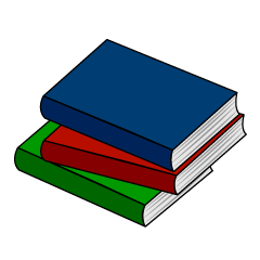Pile of books Clip Art