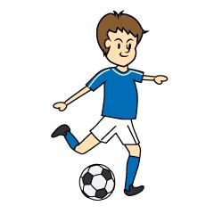 「画像  イラスト サッカー」の画像検索結果