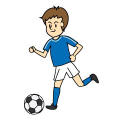 まとめサッカーのフリーイラスト素材集イラストイメージ