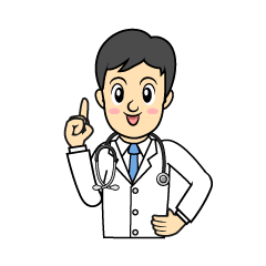 Young doctor clip art
