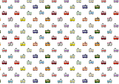 Train pattern wallpaper illustration