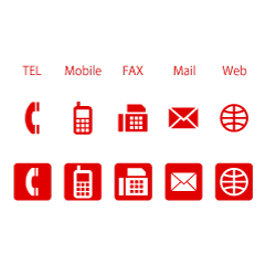 Business  red icon