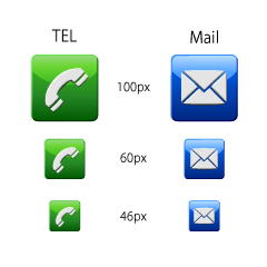 Telephone / Mail icon