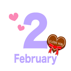 February (Valentine 's chocolate)