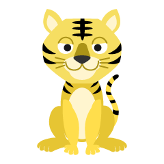 Friendly tiger