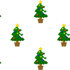 Christmas tree pattern wallpaper
