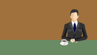 Businessman to break with coffee
