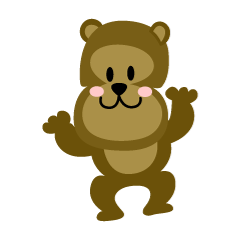 The bear's loose character