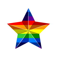 Rainbow star type