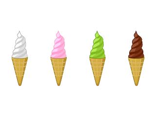 アイスの無料イラスト素材イラストイメージ