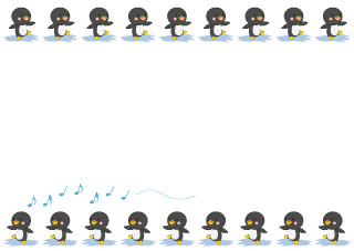 Cute Penguin Matrix