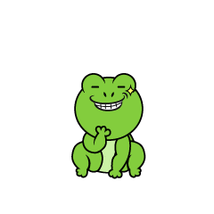 Frog that inspires an idea