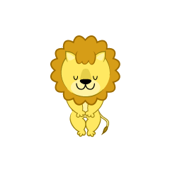 Lion Character to bow