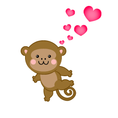 Monkey to love