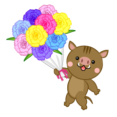 Wild Boar to Present Bouquets