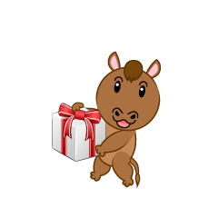 Cute Horse to Present