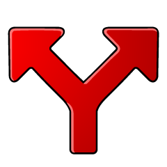 Y arrow icon