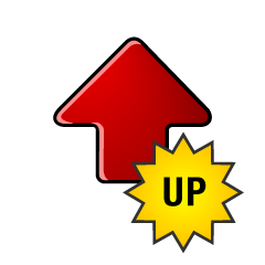 UP UP arrow