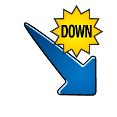 Down DOWN arrow