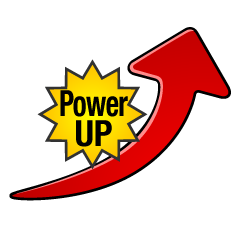 Power Up Arrow