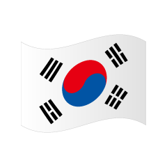 Flattering Korean flag