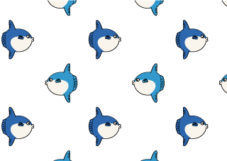 Cute sunfish wallpaper