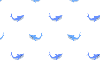 Cute shark wallpaper