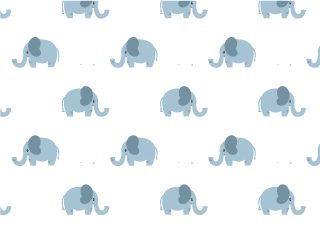Cute elephant wallpaper