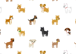 Lots of dogs wallpaper