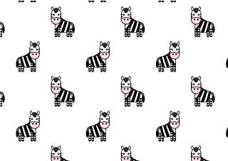 Cute zebra wallpaper