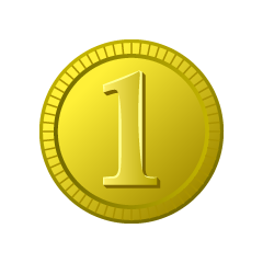First place gold coin