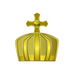 Crown of pure gold