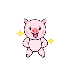 Pig chara to be good