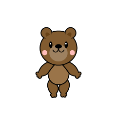 Dancing bear character