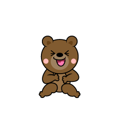 Laughing Bear Character