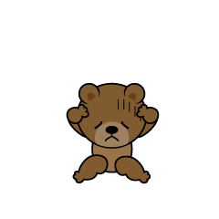 Trouble Bear Character