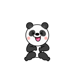 Laughing Panda Character